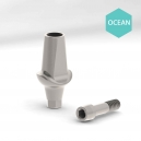 Pilier Droit design type Astra Ocean - Ø5,5mm - H1,5mm